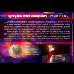 Blister A6 - 2zł 2008 Igrzyska Olimpijskie Pekin