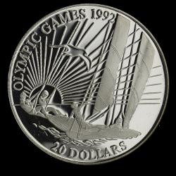 Kiribati 20$ 1992
