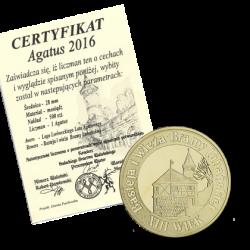 Agatus 1 2016 mosiądz brama Lubańska