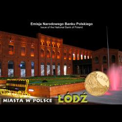 Blister A6 - 2zł 2011 Miasta w Polsce - Łódź