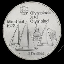 Kanada 1973 5 dolarów - olimpiada - żaglowce