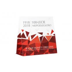 Blister Polskie Monety Obiegowe 2018 - Niepodległość
