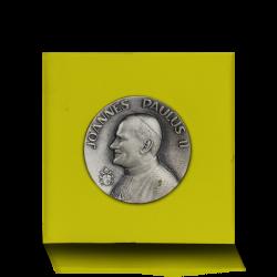 Medal z Pielgrzymki Jana Pawła II do Skandynawii