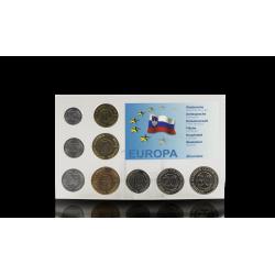 Zestaw Monet Obiegowych Słowenia