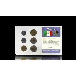 Zestaw Monet Obiegowych Meksyk
