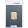 Złota sztabka Au999,9 Heraeus - 1g