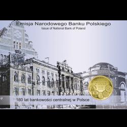 Blister A6 - 2zł 2009 180 lat Bankowości w Polsce